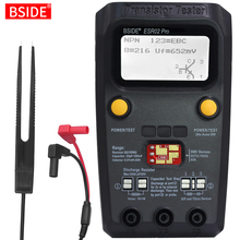 Çok amaçlı transistör ESR/SMD Tester BSIDE ESR02pro akıllı diyot triyot kapasite direnç ölçer LCD metre MOS/PNP/NPN test