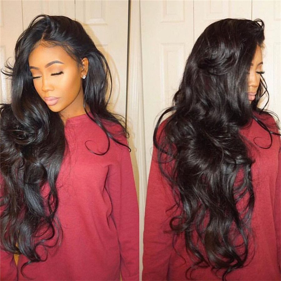 370 Lace Frontal Wig Lace Front Human Hair Wigs With Pre-Plucked Hairline Full Lace Human Hair Wig Wigs Brazilian Remy Hair