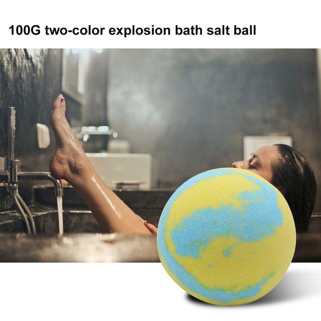 Multicolor Bath Ball Home Hotel Bathroom Spa Body Cleaner Bubble Fizzer Bath Bomb Handmade Birthday Gift For Girlfriend 3