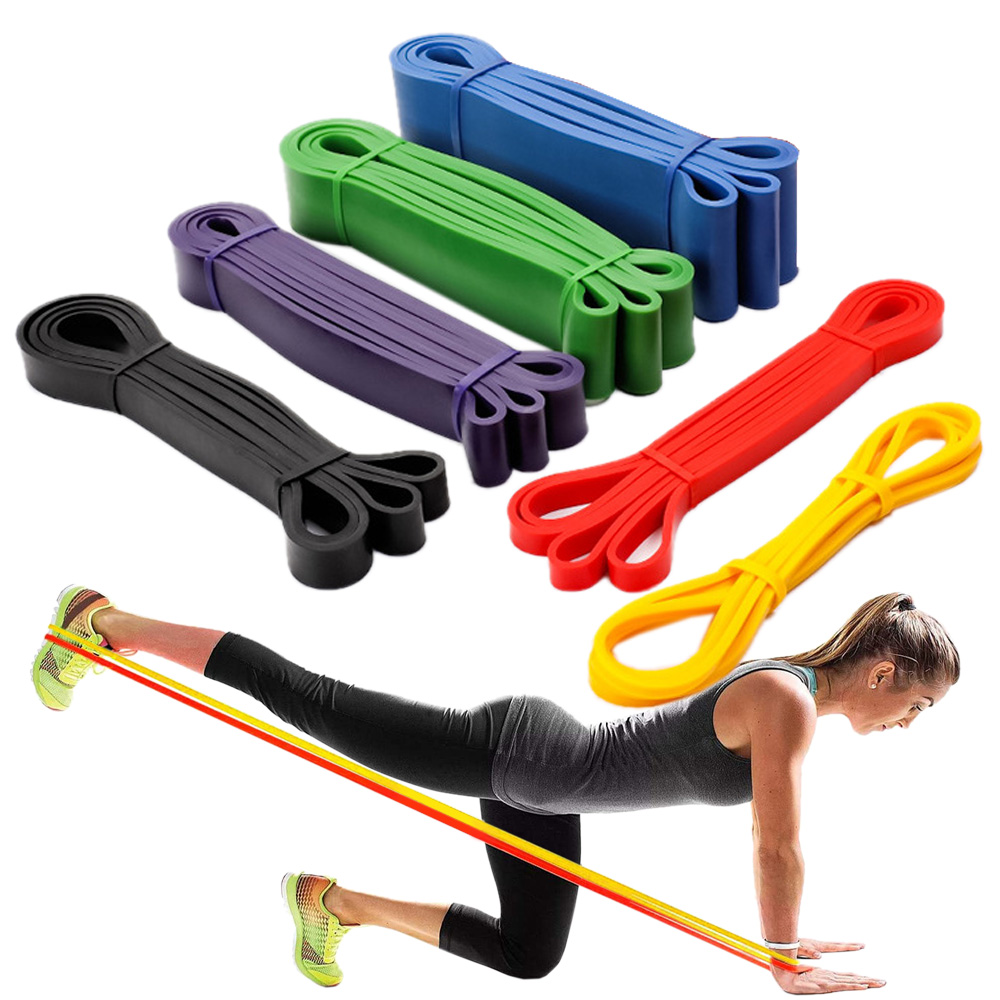 Stretch Widerstand Band Übung Expander Elastische Fitness Band Pull Up Assist Bands für Training Pilates Home Gym Workout