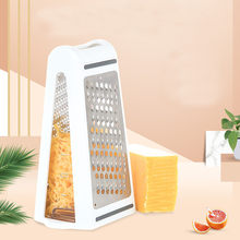 2 Sided Blades Cheese Vegetables Grater Carrot Cucumber Slicer Cutter Box Container Kitchenware Plastic Kithen Tools #F5(China)