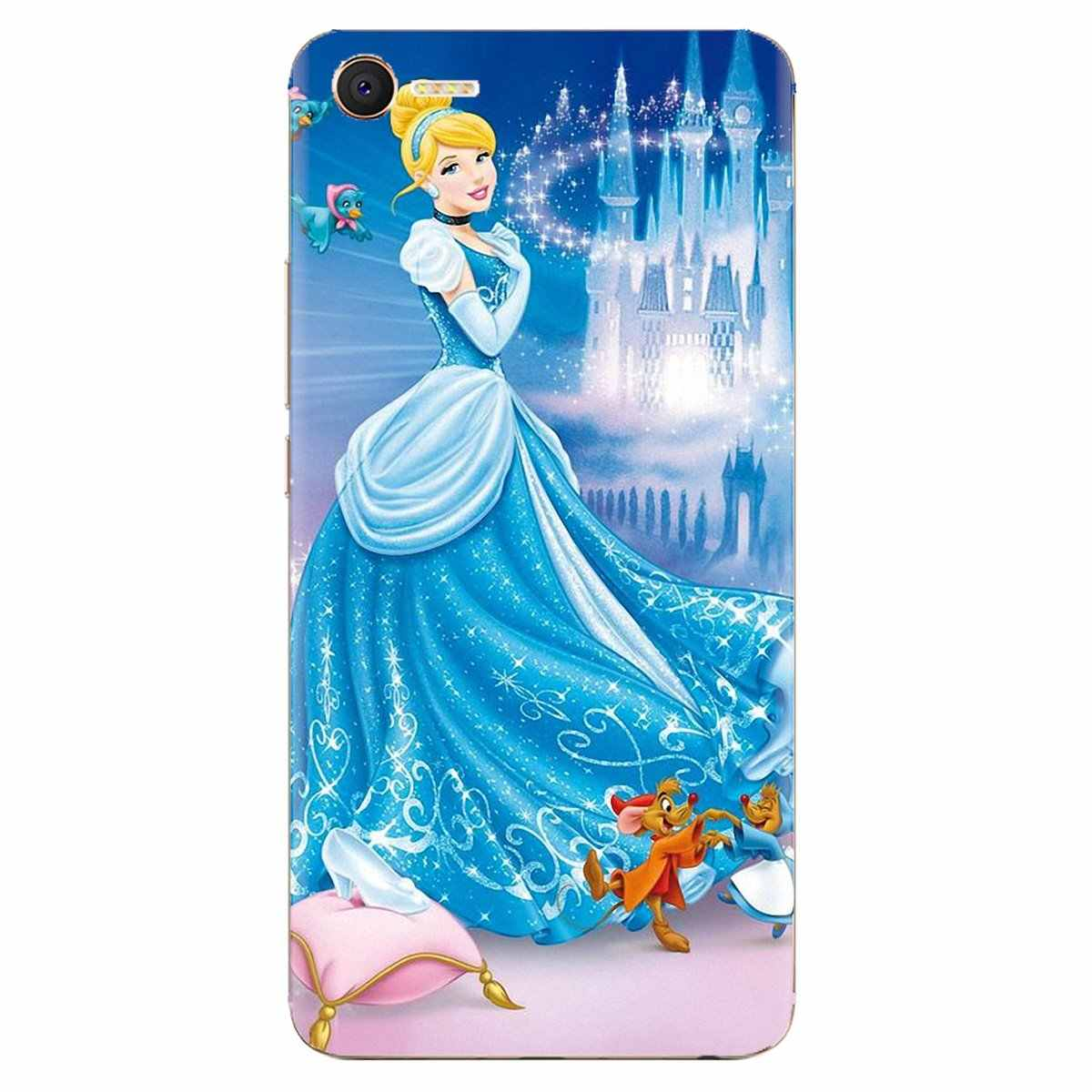 Cartoon Cinderella Glass Slipper Kasteel Soft Cover Voor Huawei Nova 2 3 2i 3i Y6 Y7 Y9 Prime Pro GR3 GR5 2017 2018 2019 Y5II Y6II