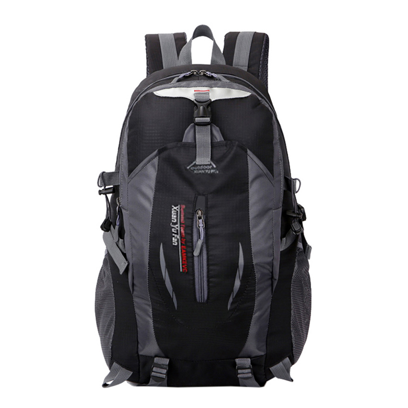 New Men Nylon Travel Backpack Large Capacity Camping Casual Backpack 15-inch Laptop Backpack Women Outdoor Hiking Bag