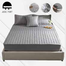 Mattress-Cover QUILTED Protection Anti-Mite Washable Cotton Soft 5-Sides Embossed Multi-Size