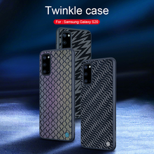 Pour Samsung Galaxy S20/S20 + Plus étui Nillkin scintillant réfléchissant lueur PC étui pour Samsung S20 Ultra 5G couverture scintillante