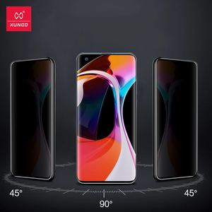 Image 1 - XUNDD di Vetro Per Xiaomi Mi 10 Pro Protezione Dello Schermo di Vetro Antiurto 9H Temperato Trasparente Pellicola Protettiva Per Xiaomi Mi 10 Pellicola di vetro