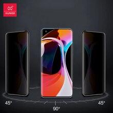XUNDD vidrio para Xiaomi Mi 10 Pro Protector de pantalla de vidrio a prueba de golpes 9H película templada transparente para Xiaomi Mi 10 Película de vidrio