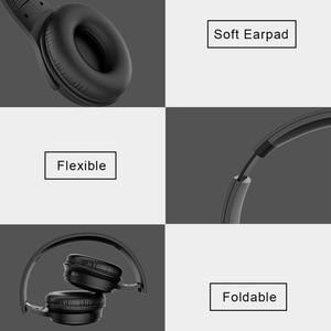 Image 3 - REZ H1 Pro Bluetooth kulaklıklar kablosuz kulaklık aşırı kulak gürültü HiFi Stereo iptal oyun kulaklığı Mic ile destek TF kart