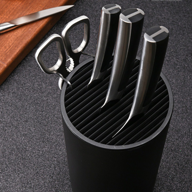 Washable Plastic Knife Stand Holder For Kitchen Knife Cooking Knife Holder Stand Block High End Kitchen Accessories