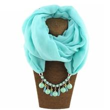 2020 pingente colar cacheol feminino cor da rosa xales jóias cacheco feminino