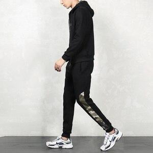 Image 3 - Brand New Men Sets Fashion Autumn Spring Sporting Suit Sweatshirt +Sweatpants Mens Clothing 2 Pieces Sets Slim Tracksuit