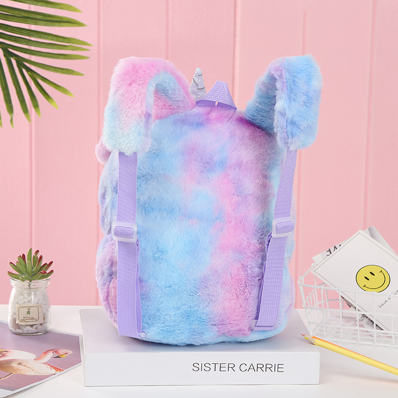 New Plush Unicorn Backpack