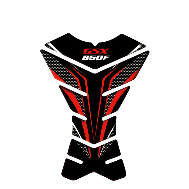 3D Motorcycle Fuel Oil Tank Pad Decal Protector rubber Sticker For SUZUKI GSF650 BANDIT GSX1250 F SA ABS GSX1400 GSX650F