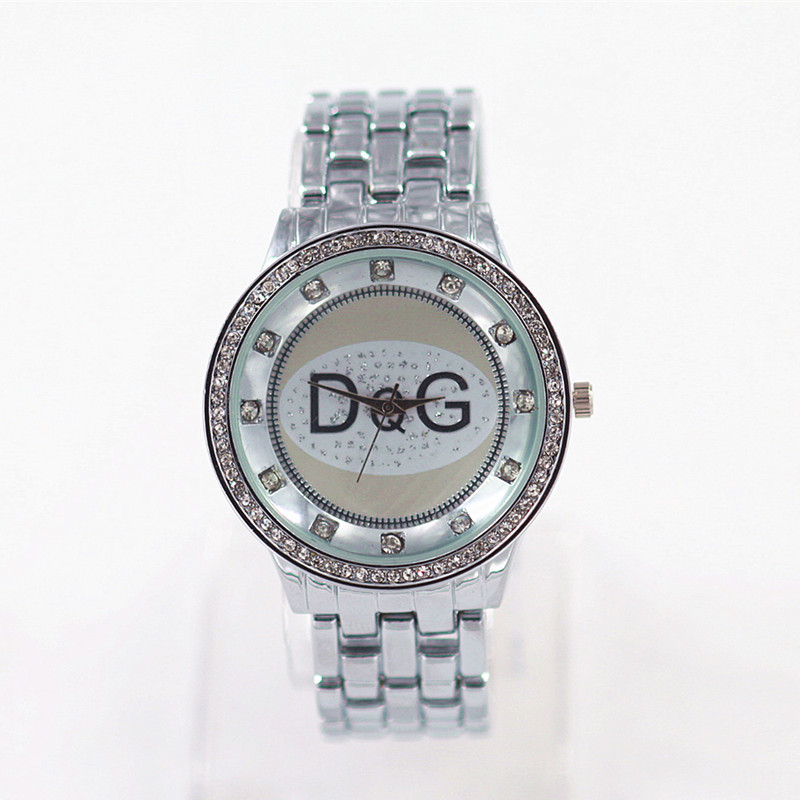 Reloj Mujer Luxury Brand Bear Women Watches Fashion Crystal Ladies Watch Silver All Steel Quartz Wrist Watches Kobiet Zegarka