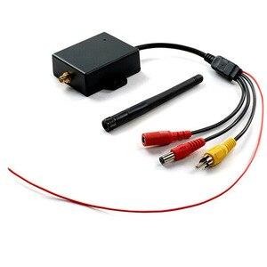 Image 4 - Прочный беспроводной кабель для камеры заднего вида, 12 В, постоянный ток, для автомобиля, AV до Wi Fi, легко устанавливается, модуль заднего вида, антенный передатчик