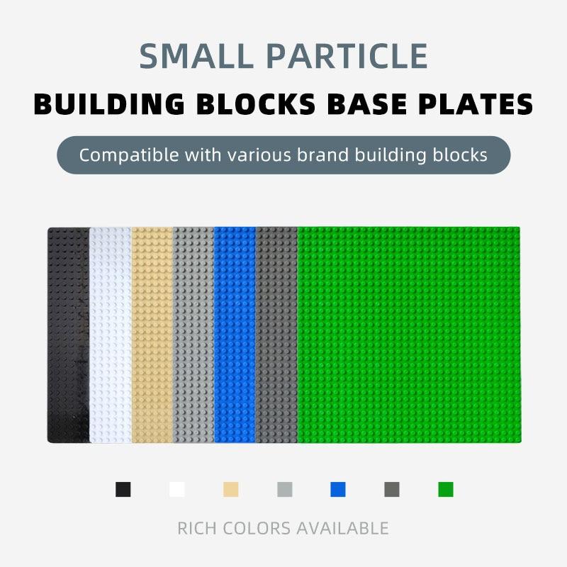 Строительные блоки базовые пластины 32x32 классические точки Совместимость Legoed блок Строительная пластина для строительных блоков строител...