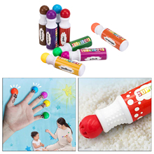 Washable Dot Markers, 8 Colors Bingo Daubers, Non-Toxic Water-Based Dot Markers for Kids Toddlers Children Art Craft Supplies
