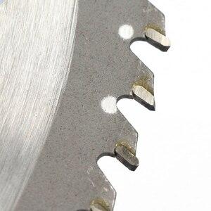 Image 5 - 1 adet 10 inç 40T/60T alaşımlı ÇALI KESİCİ testere bıçağı çim biçme makinesi çim makası bıçak bahçe aracı yedek 255x25.4mm kesme diski