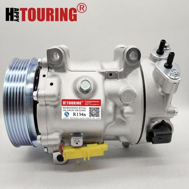 Voor Sanden Sd7c16 Compressor Voor Peugeot 307 308 807 607 406 Citroen C4 Berlingo 6453QN 6453QL 6453ZA 6453WN 6453WP 6453QL 1321F