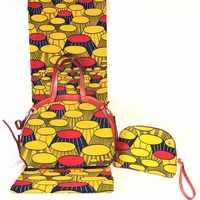 Tissus wachs mit 2 stücke frauen handtasche stoffe für patchwork afrikanischen stoff 100% baumwolle stoff afrikanischen wachs druckt gewebe TN-B15