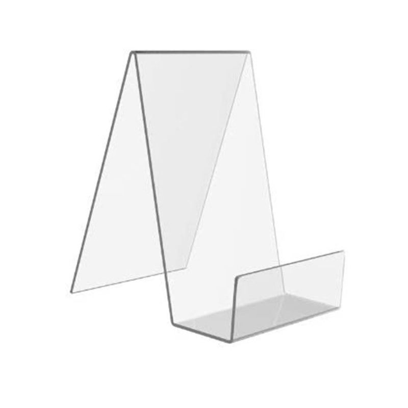 6 Pcs Acrylic Book Stand,Clear Acrylic Display Stand, Clear Holder for Displaying Pictures,Jewelry,Watch Display Stand