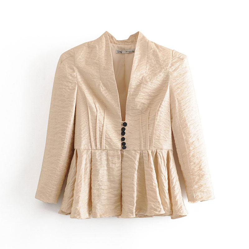 2020 england office lady vintage loose solid simple blazer feminino blazer women blazer mujer 2020 women blazers and jackets