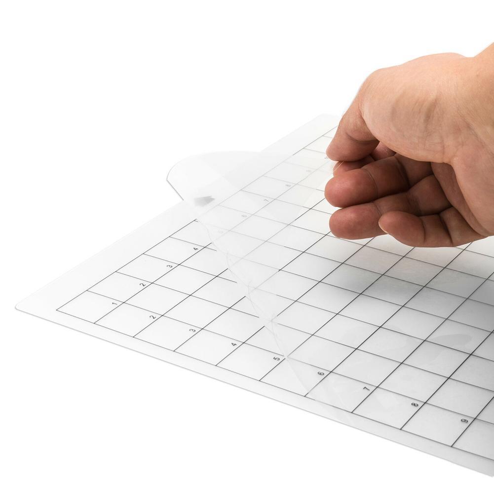 Tapete Adesivo Transparente com Medição Grade 8
