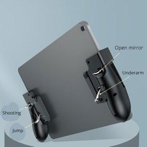 Image 3 - New H11 PUBG Gamepad Controller Six Finger Game Joystick Handle For Ipad Tablet L1R1 Fire Button Aim Key PUBG Trigger
