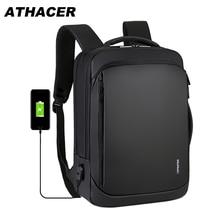 متعددة الوظائف محمول على ظهره للرجال مكافحة سرقة حقيبة USB شحن قدرة كبيرة ارتداء مقاومة السفر حقيبة المدرسة الأعمال