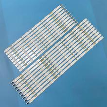 "LED Backlight Strip 14 lamps for samsung 55 ""TV UN55JS700DF UE55JU6800KXXU UE55JU6800 V5DR_550SCA_R0 V5DR_550SCB_R0 BN96 38481A"