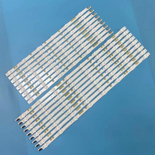 """LED Bande de Rétro Éclairage 14 lampes pour samsung 55 """"TV UN55JS700DF UE55JU6800KXXU UE55JU6800 V5DR_550SCA_R0 V5DR_550SCB_R0 BN96 38481A"""