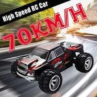 Coche de carreras RC WLtoys A979 1/18 4WD, coche de carreras con Control remoto fuera de carretera, coche de carreras con Control remoto por Radio de 2,4 GHz, Buggy de camión de alta velocidad