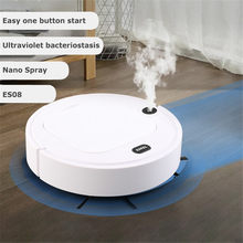 Home Robot Vacuum Cleaner 3 in 1 Spray Sweeping Robot Cleaning Machine USB Charging Vacuum Cleaners Mopping Robot
