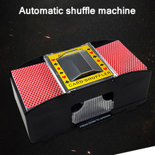 Electric Automatic Playing Cards Shuffler For Board Game Poker Decks Casino Robot Card Shuffling Machine Poker Tool