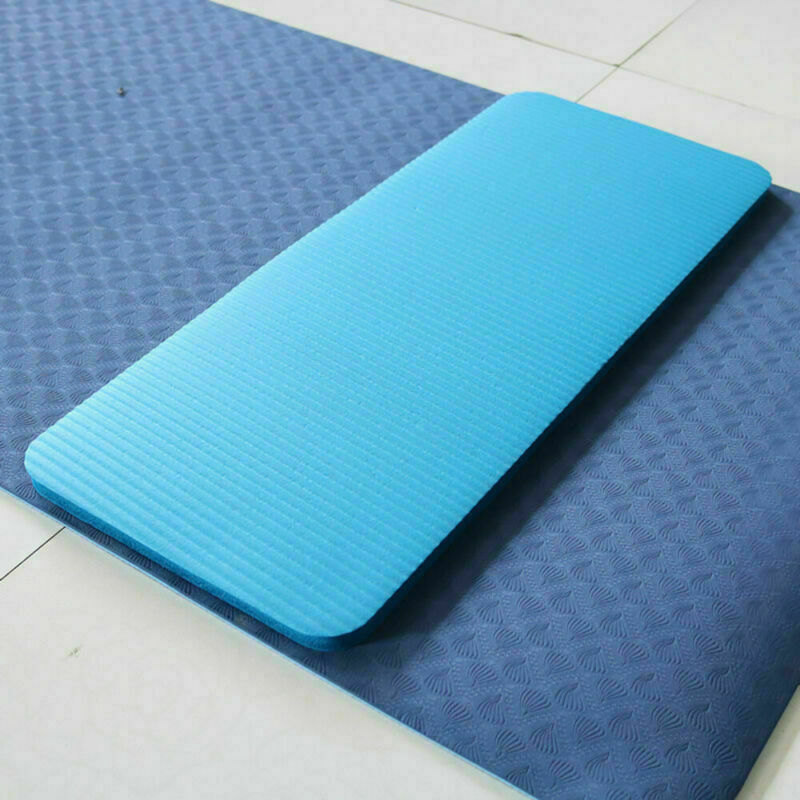 Yoga Pilates Mat Thick Exercise Gym Non-Slip Workout 15mm Fitness Mats SEC88