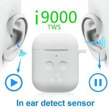 Original i9000 TWS in-ear pop-up Wireless Earphones 8D Super Bass Bluetooth 5.0