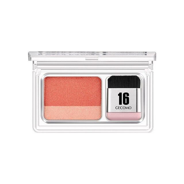 Double Color Gradient Lazy Eye Shadow Makeup Palette Glitter Waterproof Glitter Eyeshadow 6