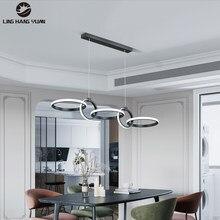 Lampada a sospensione moderna a Led lampada a sospensione 110V 220V lampadario lampada a sospensione per sala da pranzo cucina soggiorno apparecchi di illuminazione