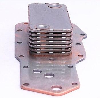 auto truck diesel engine parts 6BT 6BT5.9 aluminum oil cooler core 3902372 3903375 3911940 3918293 3921558 3957544 isle l8 9 diesel auto parts 5267632 piston