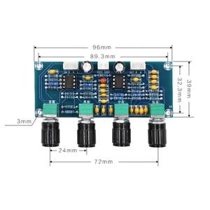 Image 3 - Placa amplificadora de som repalhável ne5532, equalizador ajustável de graves agudos e áudio, pré amplificador com controle de tom
