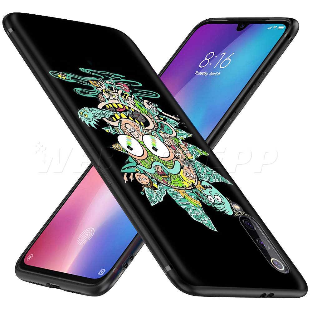 Ricky Morty Nghệ Thuật Dành Cho Tiểu Mi Đỏ MI Note 8 Mi 3 6 8 9 A1 A2 A3 8A 6X9 T CC9 Lite SE Pro Max F1 10