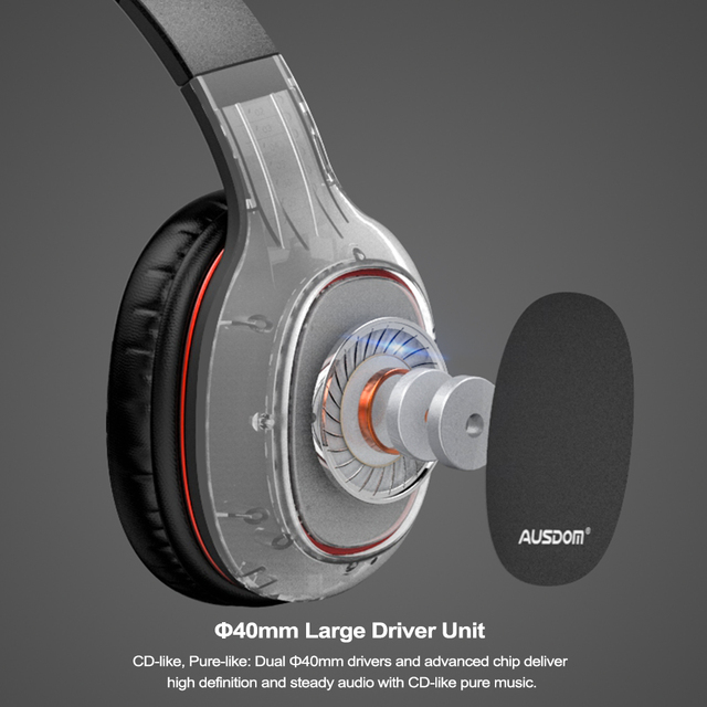 Wireless Bluetooth Stereo Headphones