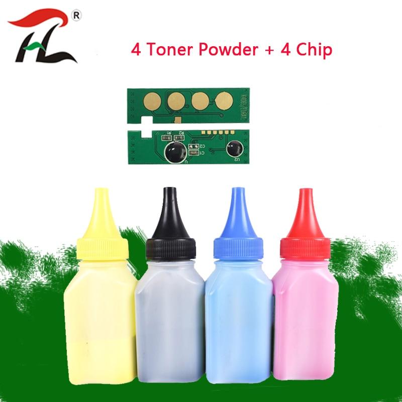 Refill Toner Powder +Chip CLT-K404S CLT-C404S CLT-M404S For Samsung Xpress SL-C430C430W C480 C480w C480FN C480FW Laser Printer