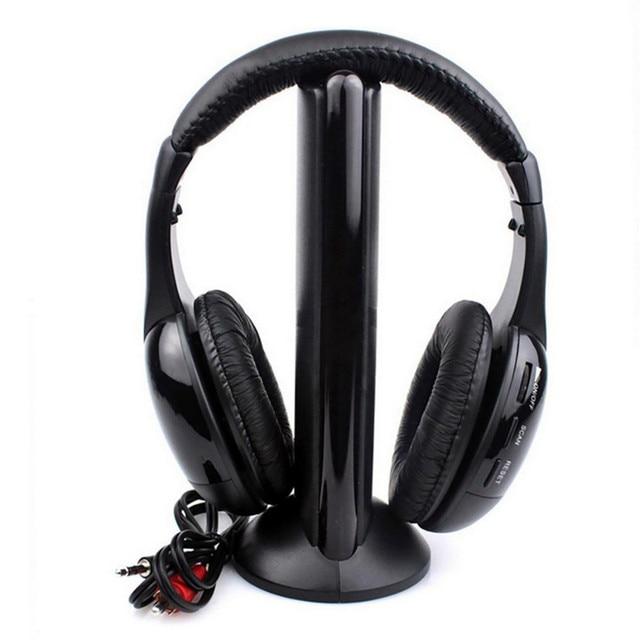 CARPRIE Wireless Earphones Wireless Bluetooth Headset Portable Cordless Headphone  with MIC for FM Radio PC Laptop TV FM MP3