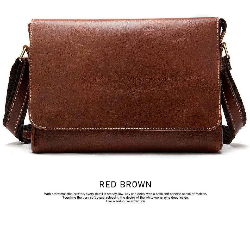 H33ad231776824448958adbb2d435ff5eM WESTAL Men's Briefcases Laptop Bag Leather Lawyer/office Bags Messenger Bags Men's Crazy Horse Leather Briefcases Business Bag