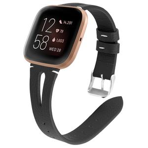 Image 2 - Printing leather Watch band For Fitbit Versa 2 Smart Watch Pattern Bracelet Band for fitbit versa / versa lite correa