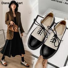 2021 модные весенние оксфорды на плоской подошве; Женская обувь