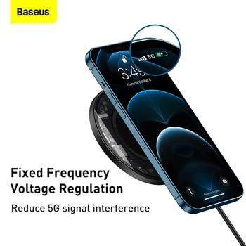 Магнитное Беспроводное зарядное устройство Baseus 3
