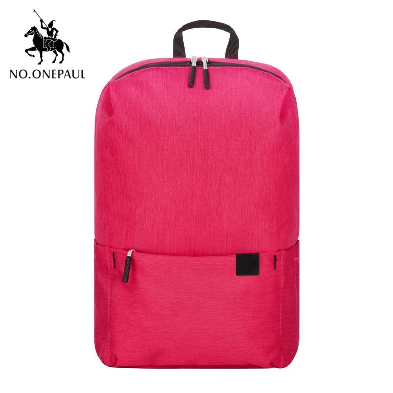 NO.ONEPAUL Mini Backpack Women Multi-Function Fashion Laptop Backpack Female  School Bagpack Bag For Teenage Grils Free Shipping