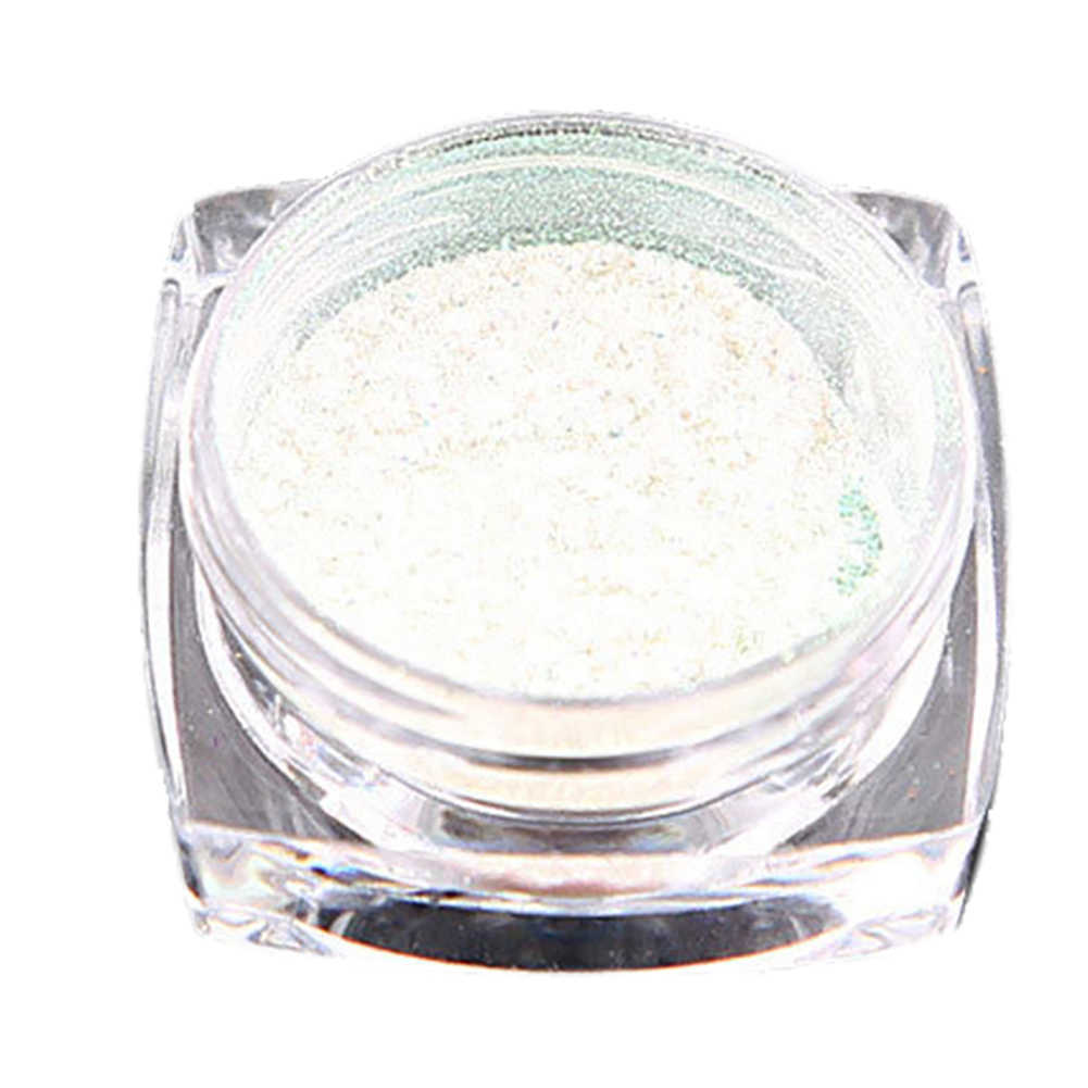 0.2g Mermaid Mirror Metallic Effect Shinny Chrome Powder Nail Art Chrome Pigment Powder